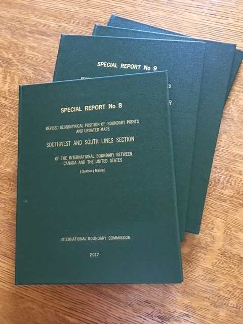 Publication of Special Reports 8 and 9